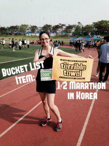 Half Marathon in Korea