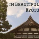 What to Do in Beautiful Kyoto! #Japan #travel #traveltips #Kyoto #Asia