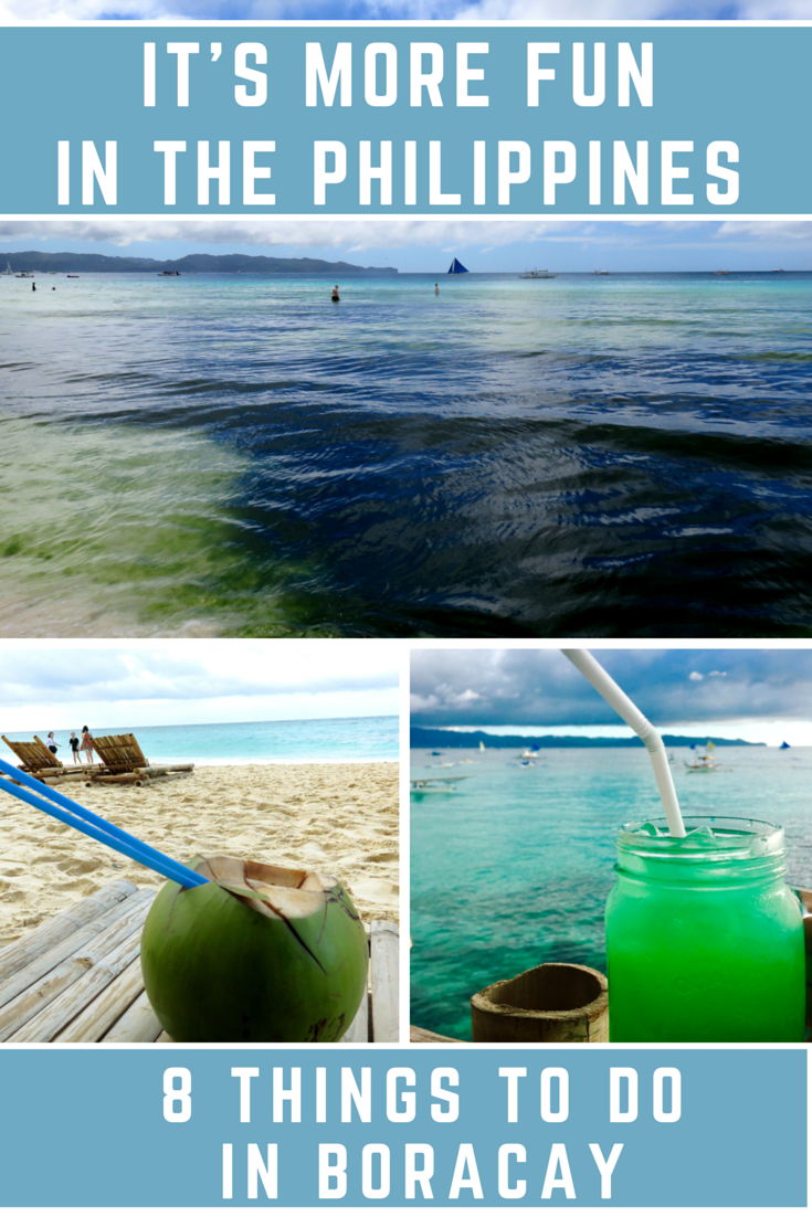 8 Things to Do in Boracay! #Philippines #travel #traveltips #vacation