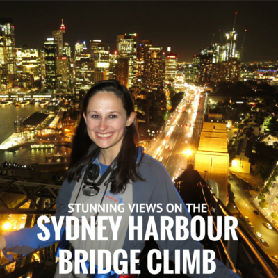 Stunning Views on the Sydney Harbour Bridge Climb