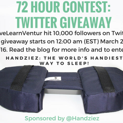 Travel Product Giveaway: Celebrating 10,000 Followers!