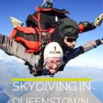 Skydiving in Queenstown, New Zealand #adventure #travel #NewZealandTravel #traveltips