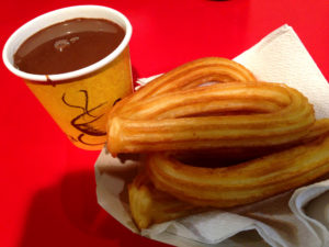 Street Food Around the World -- Churros Con Chocolate