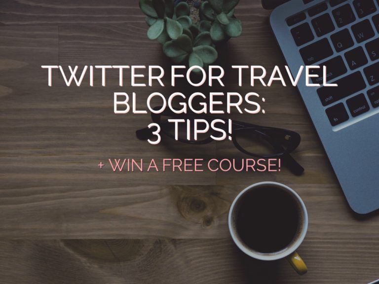 Twitter for Travel Bloggers