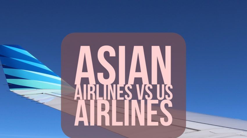 Asian airlines vs US airlines