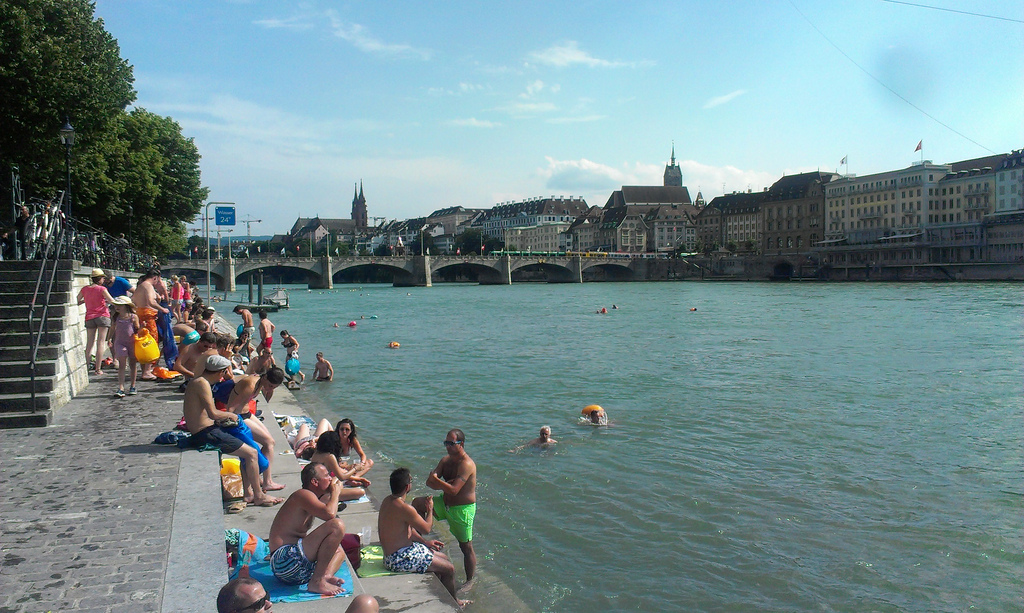 A perfect summer day in Basel