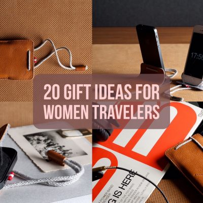20 Gift Ideas for Women Travelers