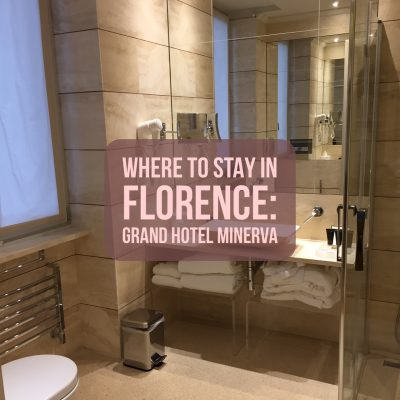 Where to Stay in Florence: Grand Hotel Minerva