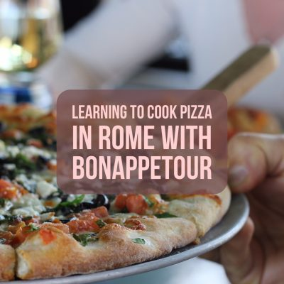Learning to Cook Pizza in Rome with BonAppetour