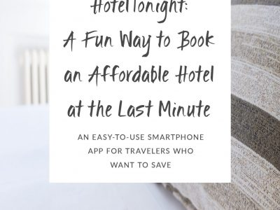 HotelTonight: A Fun Way to Book an Affordable Hotel at the Last Minute