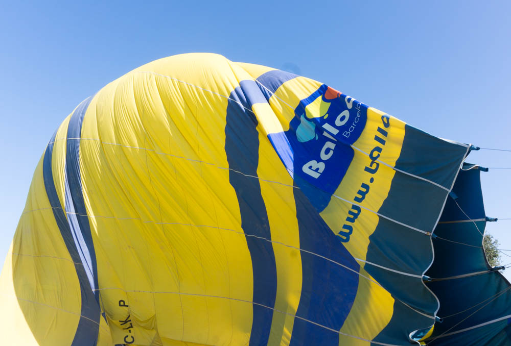 experience beautiful Spain views with Ballooning barcelona