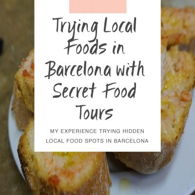 Trying Local Foods in Barcelona with Secret Food Tours