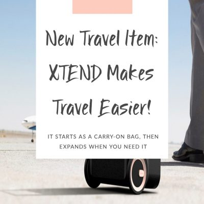 New Travel Item: XTEND Makes Travel Easier!