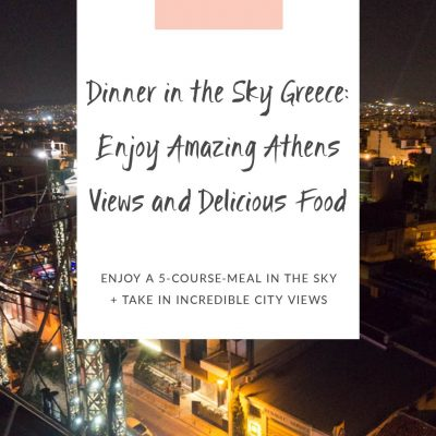 dinner in the sky greece