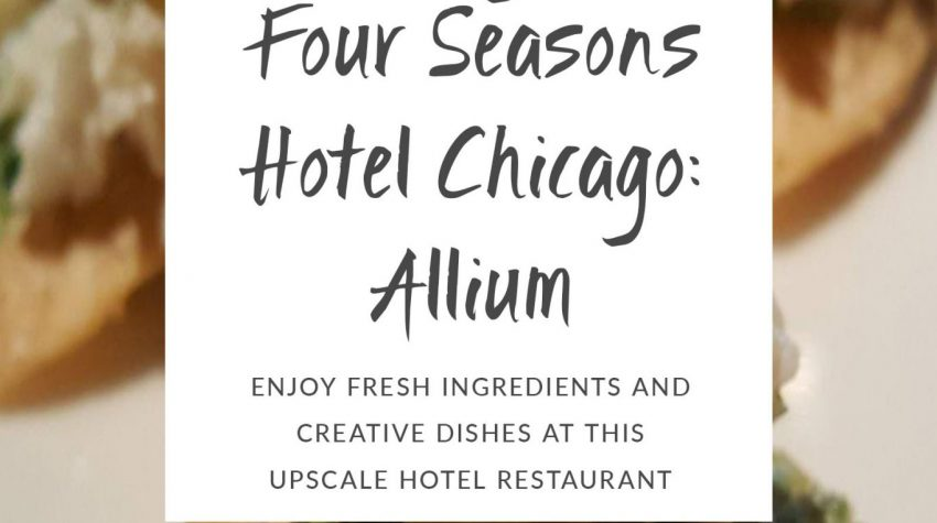 four seasons hotel chicago allium cover
